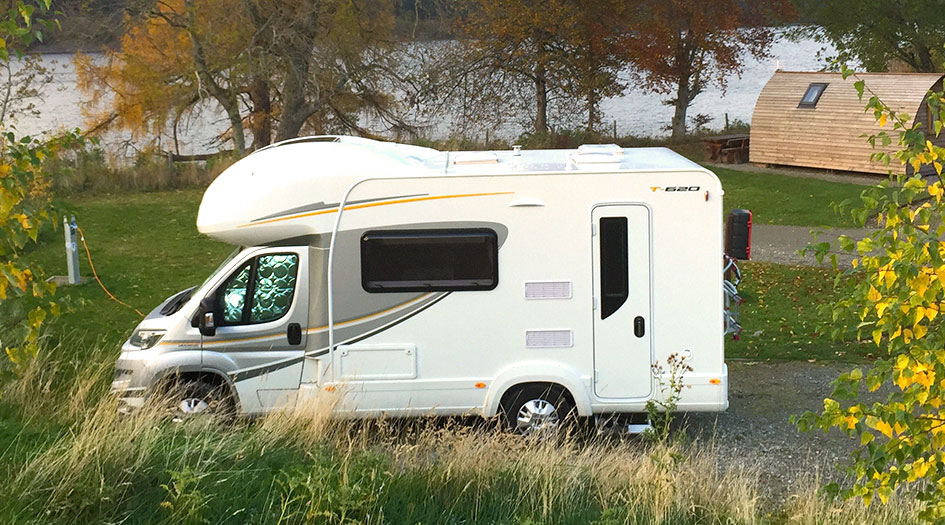 Creative Eyemouth Caravan For Hire With Great Views Scotland